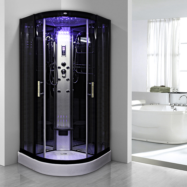 cabine douche insignia galaxy hydro 90 90x90cm. Black Bedroom Furniture Sets. Home Design Ideas