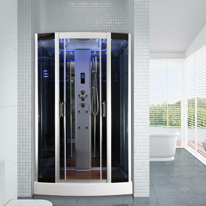Cabine de douche hammam 2 personnes insignia xdual 150 150x90cm - Douche hammam 2 personnes ...