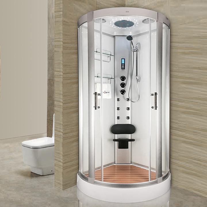 cabine de douche hydro 90x90 insignia saturne hydro 90. Black Bedroom Furniture Sets. Home Design Ideas