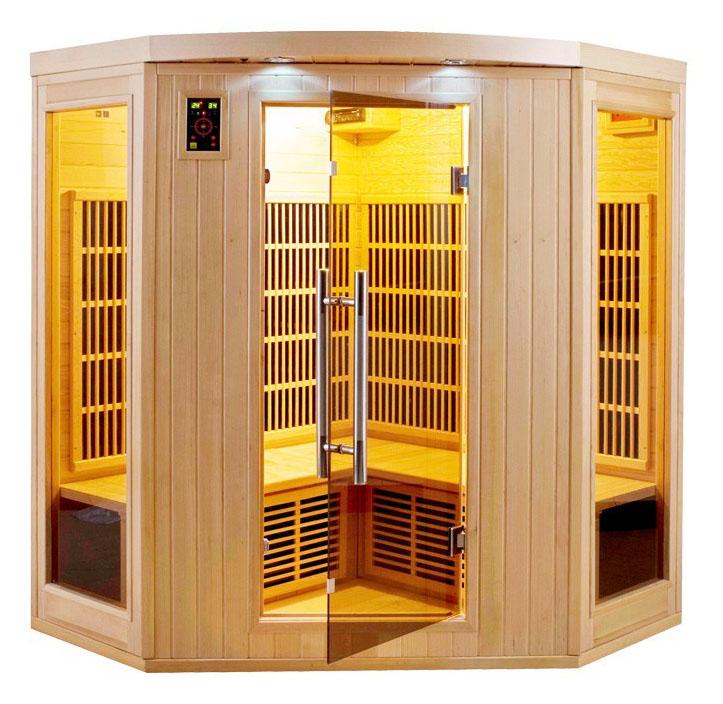 achat sauna apollon 3 4 places livraison gratuite. Black Bedroom Furniture Sets. Home Design Ideas