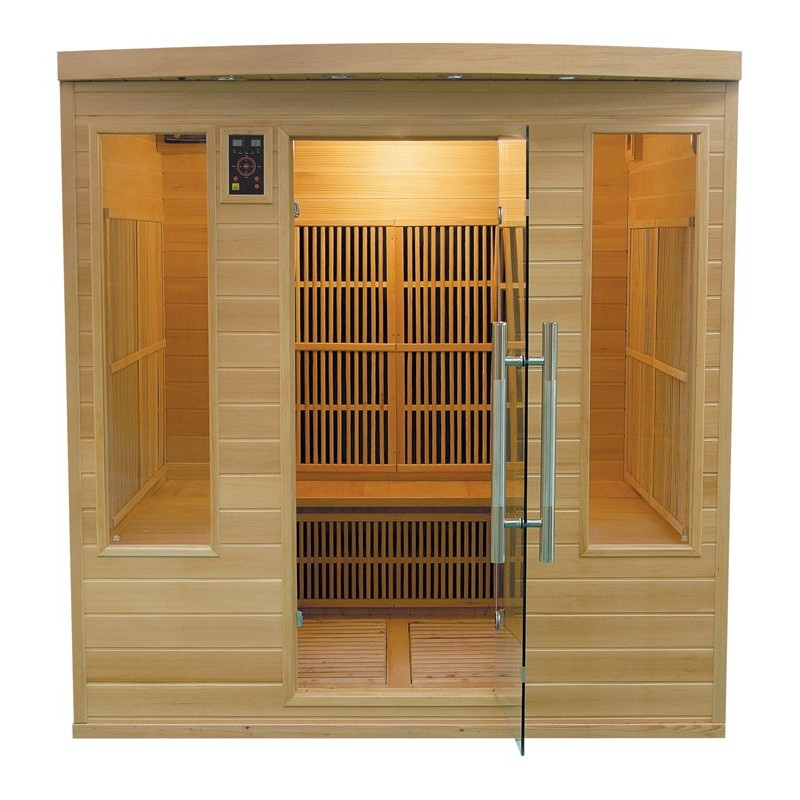 Sauna Apollon Club 4-5 places - 185x185cm ...