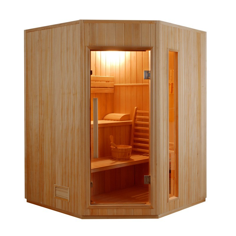Achat sauna vapeur zen 3 4 places livraison gratuite - Achat sauna belgique ...